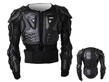 Peto Integral Moto, Motocross, Enduro, chaqueta Proteccion NEGRO ML XL XXL XXXL (XXXL)