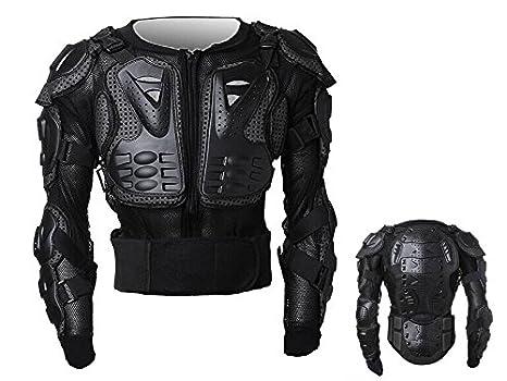 Peto Integral Moto, Motocross, Enduro, chaqueta Proteccion NEGRO M L XL XXL XXXL (
