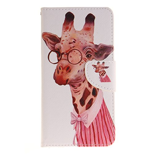 DRUnKQUEEn iPhone 7 Case, Wallet Purse Type Leather Credit Cards Case with Cellphone Holder Flip Cover foriPhone7(4.7'')
