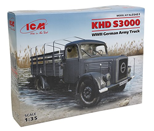 ICM Models 1/35 KHD S3000 WWII German Army Truck