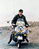 Phil Daniels Seated On Lambretta Scooter Quadrophenia 11x14 HD Aluminum Wall Art