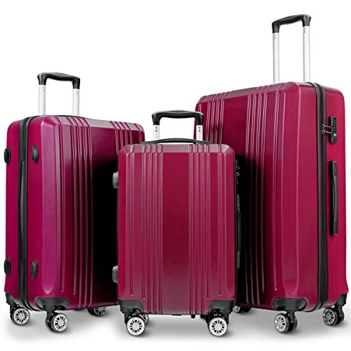Directsale92 GLOBALWAY 3Pc Luggage Set 20