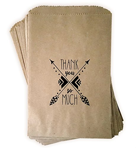 Kraft paper rustic treat, favor or gift bags 24 ct made out of 100% recycled paper