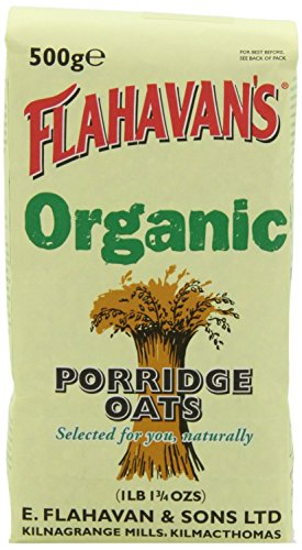 (FLAHAVAN'S Organic Irish Porridge Oats, 500 gr)