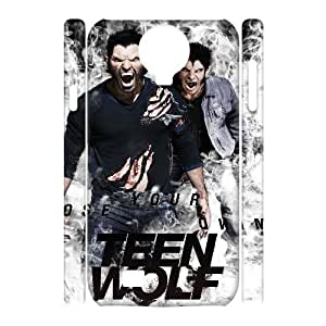 QSWHXN Cell phone Cases Teen Wolf Hard 3D Case For Samsung Galaxy S4 i9500