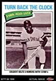 1977 Topps # 433 Turn Back The Clock Nate Colbert San Diego Padres (Baseball Card) Dean's Cards 6 - EX/MT Padres
