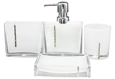 Set Da Bagno Moderno : Eumat serie moderno sala da bagno set di accessori da bagno di