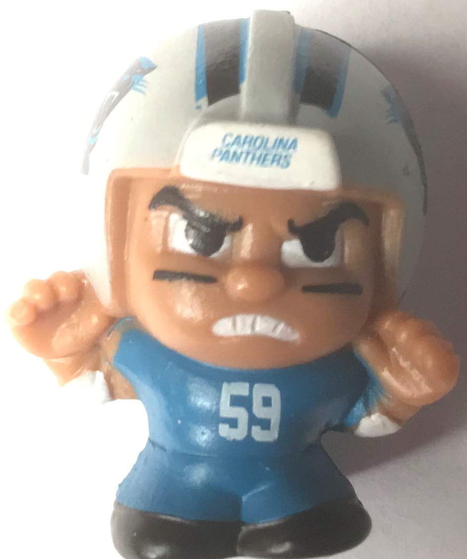 2017 NFL Teenymates Series 6 Carolina Panthers Luke Kuechly Color Rush Uniform Rare 1 in 128 Packs Mini Figure Minifigure