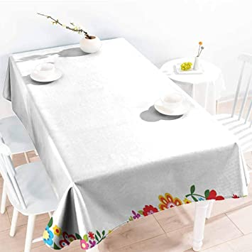 Amazon.com: Onefzc Small Rectangular Tablecloth,Kids Party ...