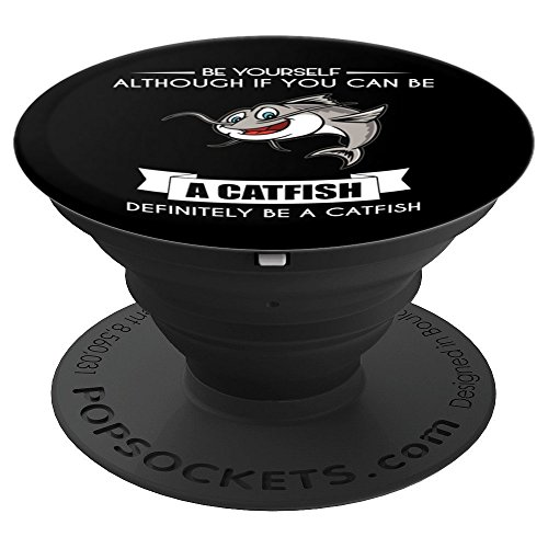Catfish - Animal Lovers - Pet Owners - Farm - Zoo - PopSockets Grip and Stand for Phones and ()