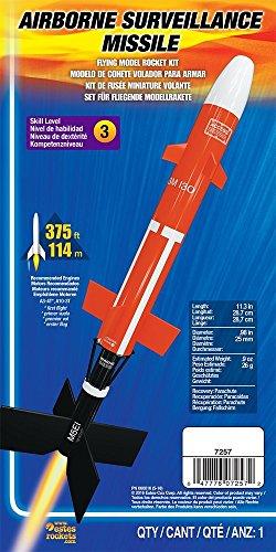 Estes Flying Model Rocket Kit Airborne Surveillance Missile 7257