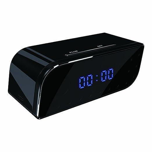 Yatek Reloj de mesita WiFi espía, detección de Movimiento, visión Nocturna, 720P, Compatible con Android y iPhone: Amazon.es: Electrónica