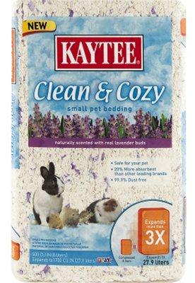 Kaytee Clean & Cozy Lavender Bedding, 500 Cubic Inch