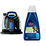 Pet Stain Remover Bundle - SpotClean ProHeat Portable Spot Cleaner + Bissell 2x Pet Stain and Odor Portable Machine Formula, 32 oz