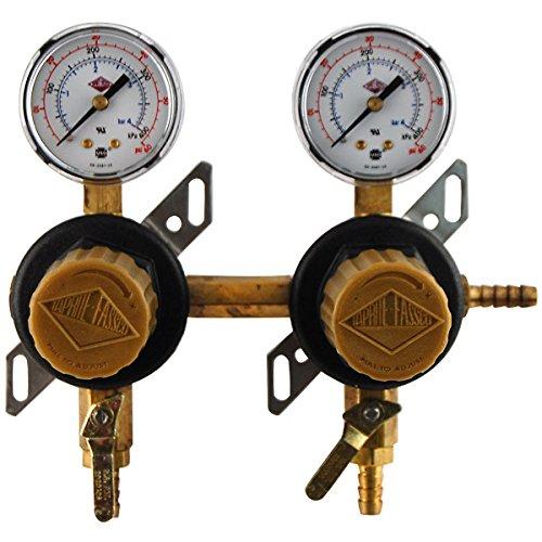 2-Way Secondary Air Regulator - Polycarbonate - Secondary Regulator Co2