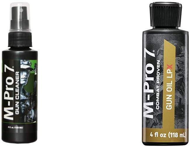 Prom M-Pro 7 Gun Cleaner - 4 Ounce Spray Bottle Hoppe's M-Pro 7 LPX Gun Oil, 4 Ounce Bottle