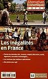 Alternatives économiques, Hors-série poche N° : Les inégalités en France par Dorival
