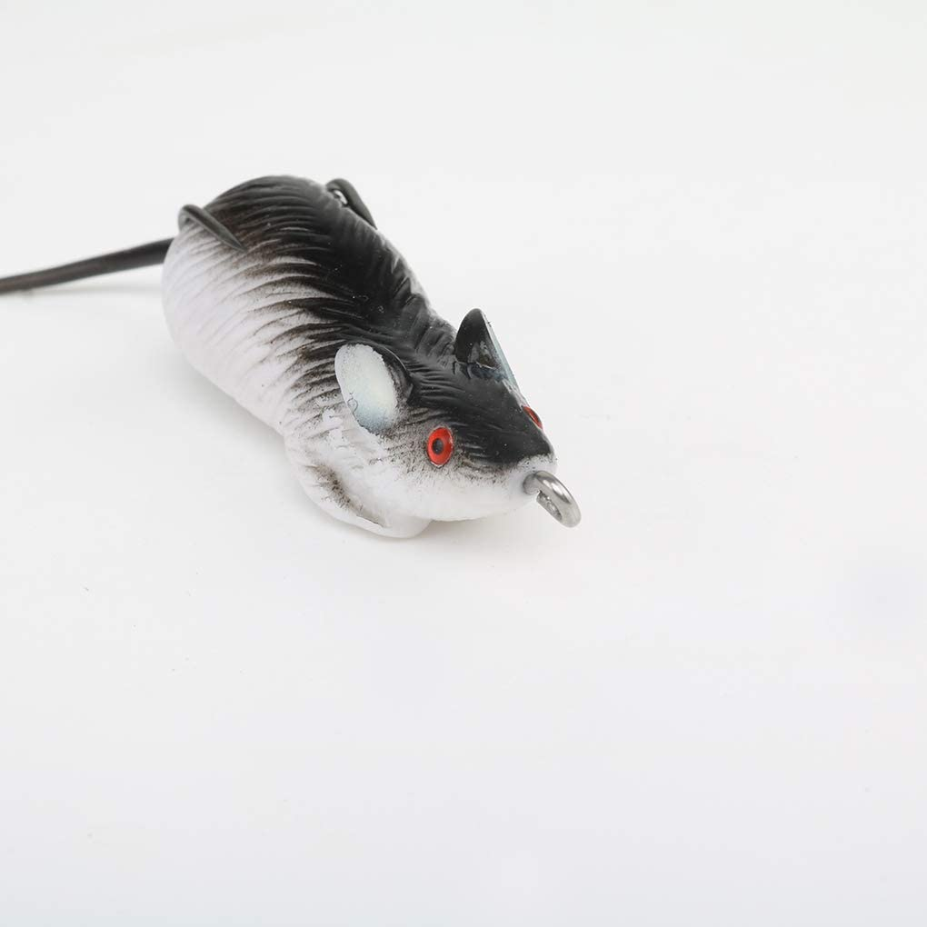 Fengyuanhong Soft Rubber Mouse Fishing Lures Baits Top Water Tackle Hooks Bass Bait