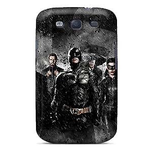 WWOStore Premium Protective Hard Case For Galaxy S3- Nice Design - Batman Trilogy Jpeg