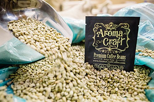 Aroma Craft Coffee: Specialty Quality Premium Ethiopia Unroasted Green Coffee Beans. Triple-Picked, Specialty Ethiopia Yirgacheffe Kochere (5 lb)
