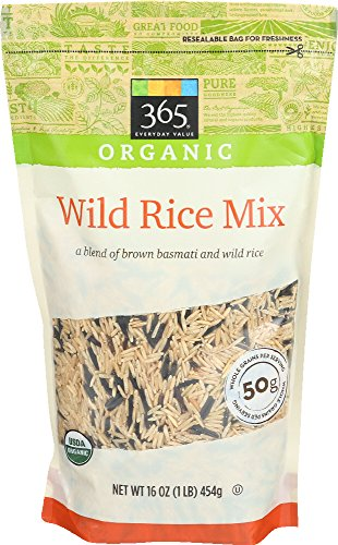 365 Everyday Value, Organic Wild Rice Mix, 16 Ounce