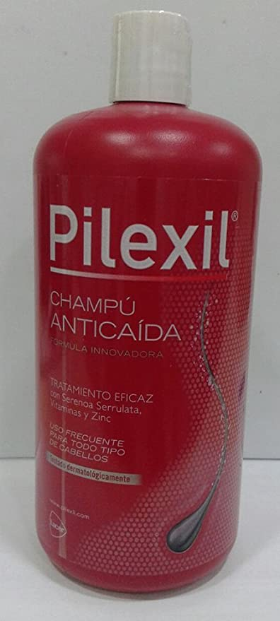 LACER PILEXIL Champú Anticaída 900 ml: Amazon.es: Belleza