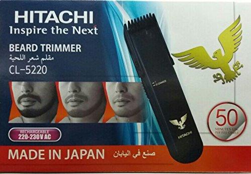 Hitachi Cl 5220 Rechargeable Beard Trimmer
