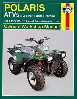 polaris atv shop manual 1985 1995 clymer all terrain vehicles rh amazon com 1999 polaris sportsman 335 service manual polaris sportsman 335 repair manual