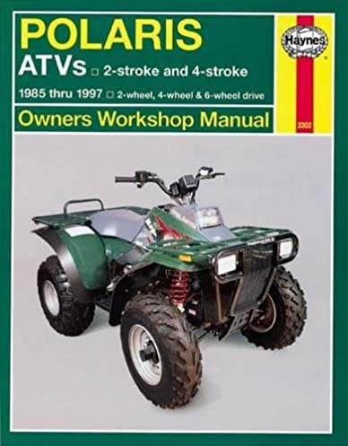 polaris atv 250 500cc 85 97 haynes repair manuals haynes rh amazon com Polaris Trailblazer 250 Manual PDF Polaris Trailblazer 250 Owner's Manual