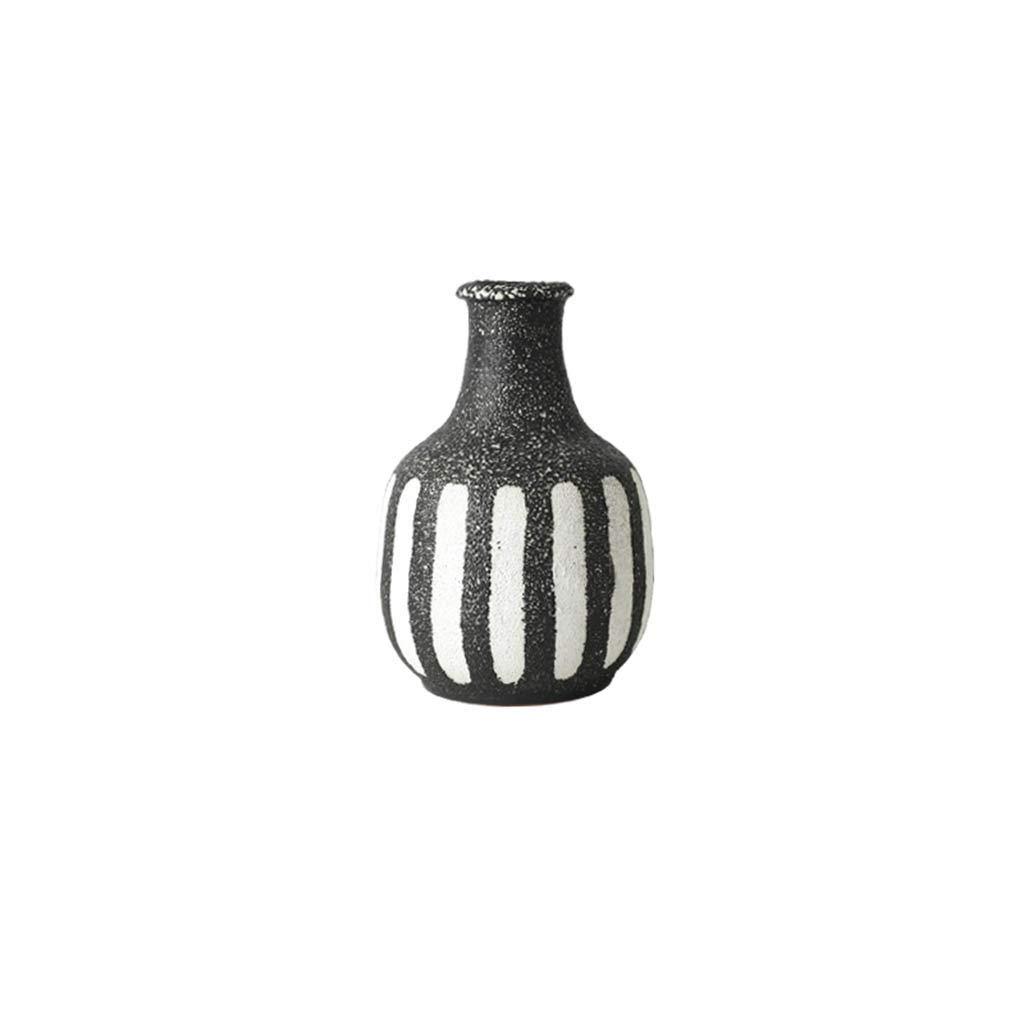 北欧レトロセラミック花瓶リビングルームホームモデルの装飾 (Edition : C) B07SVGFR8H  C