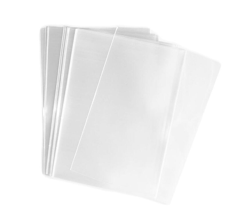 100PCS 1.2mil Transparent Gift Wrap Flat Cello/Cellophane Treat Bag(Not Sticky) for Snacks Bakery Candle Soap Cookie Gift Basket Supplies Xmas (11'' x 14'') Elandy