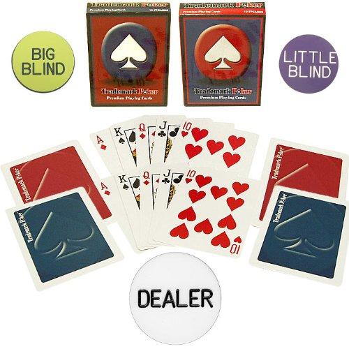 Trademark Poker Poker Chip Set Accessories Accessory Kit (Multi)