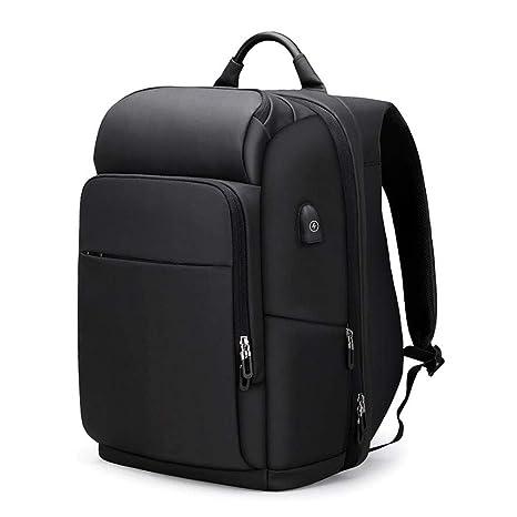 Jcnfa Mochila antirrobo mochila para hombres bolsa de viaje de corta distancia gran capacidad 17.3 pulgadas