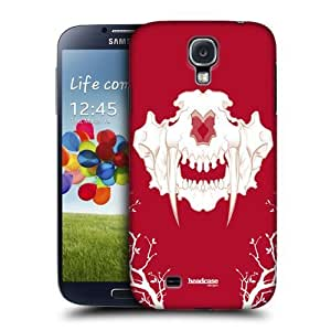 Sabertooth Cherry Fossil Back Case Cover For Samsung Galaxy S4 I9500