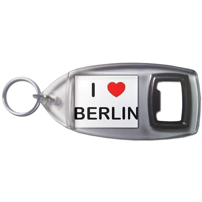 BadgeBeast.co.uk I Love Berlin - Llavero abridor de botellas ...