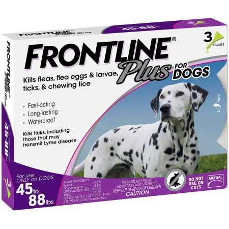 Advantage Purple Cat - Frontline Plus for Dogs 4588 lbs Purple, 3 Month