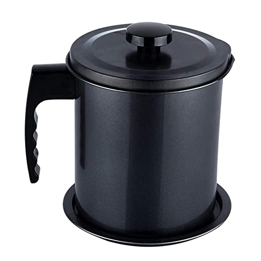 Contenedor de aceite para cocina, separador de latas de 1,3 ...
