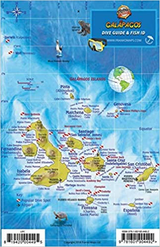 Galapagos Islands Dive Map & Sea Creatures Franko Maps ... on nameless island, baltra island, pinta island, tierra del fuego on map, africa map, fernandina island, greater antilles map, cocos islands, maldives map, ethiopia map, dominican republic map, bay of fundy, iguazu falls, europe map, luxembourg map, caribbean map, puerto baquerizo moreno, galapagos national park, strait of magellan map, iceland islands map, puerto ayora map, honduras map, peru map, netherlands antilles map, aleutian islands map, charles darwin research station, ha long bay, genovesa island, puerto ayora, atacama map, isabela island, central america map, madagascar map, bahamas map,