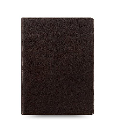 (Filofax Heritage Buffalo Leather Organizer Agenda Calendar with DiLoro Jot Pad Refills (A5 Compact, Brown 2019, 026025))