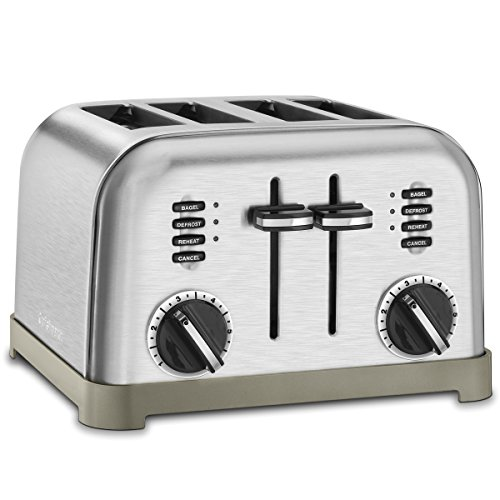 Cuisinart 2-Slice/4-Slice Metal Classic Toaster