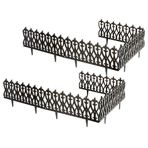 wrought iron garden fencing - 8