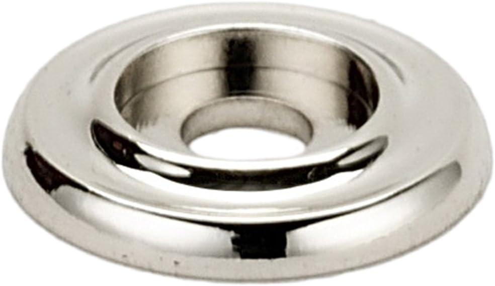 1 Alno A615-1-PN Traditional Backplates Polished Nickel