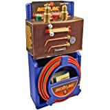Ameriflame T100 Medium Duty Portable Welding/Brazing Outfit with Plastic Carrying Stand