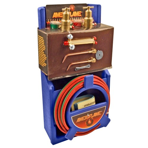 Ameriflame T100 Medium Duty Portable Welding/Brazing Outfit with Plastic Carrying Stand (Oxy Acetylene Tanks compare prices)