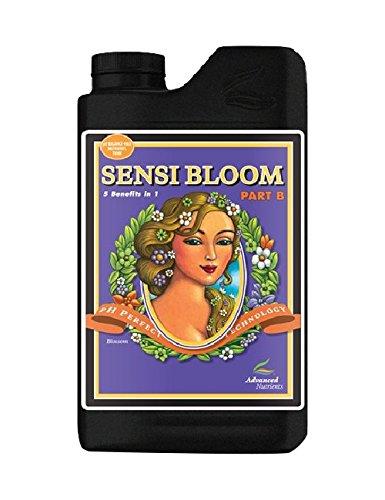 (Advanced Nutrients pH Perfect Sensi Bloom Part B Plant Nutrient, 1L)