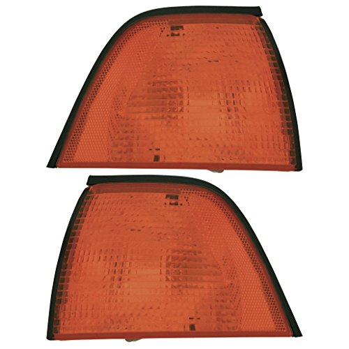 E36 Turn Signal Light - ECCPP ECCPP Turn Signal Light Lamps Driver Side Passenger Side for BMW E36 Sedan BM2521102