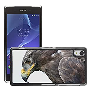 Super Stella Slim PC Hard Case Cover Skin Armor Shell Protection // M00148722 Steppe Eagle Aquila Nipalensis Adler // Sony Xepria Z2 L50W