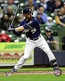 "Jonathan Lucroy Milwaukee Brewers 2016 MLB Action Photo (Size: 16"" x 20"")"