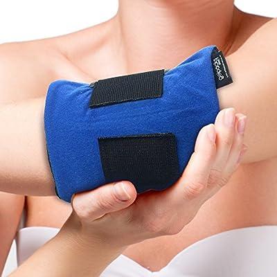GelpacksDirect Bolsa de gel para aplicar frío y calor - Con banda ...