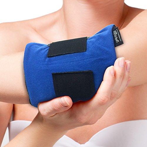Bolsa de gel para aplicar frío y calor - Con banda de compresión - Para codo de tenista y golfista: Amazon.es: Salud y cuidado personal